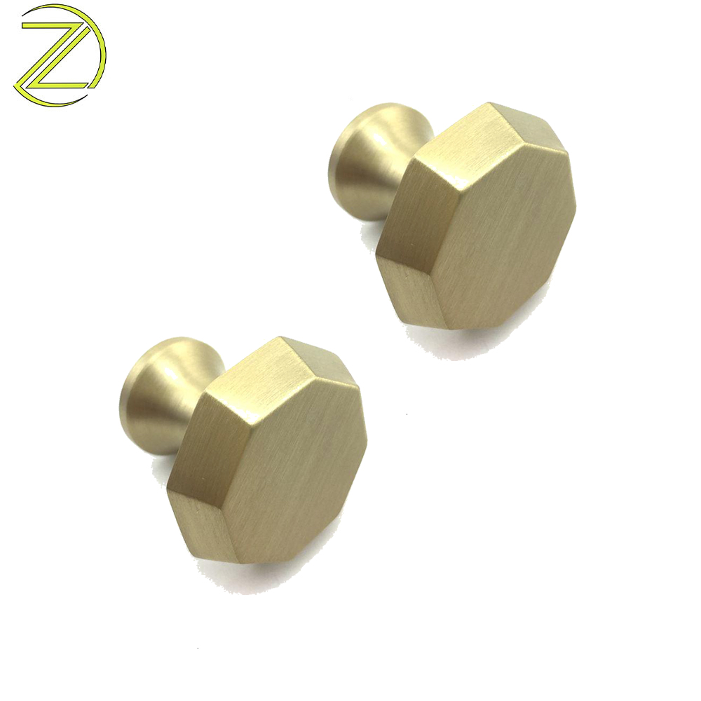Factory Price Hexagonal Cabinet Knobs